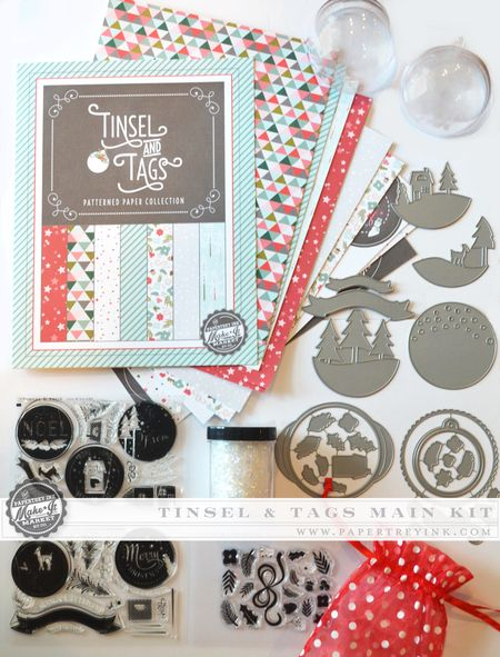 Tinsel & Tags Main Kit