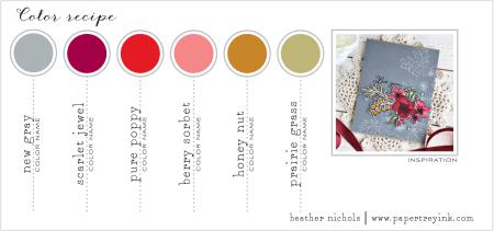 April 2018 Color Inspiration Card Heather