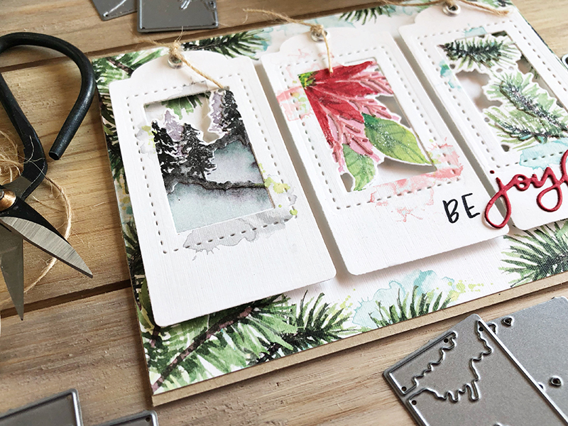 Poinsettia&pine-tagcard-3-hnichols