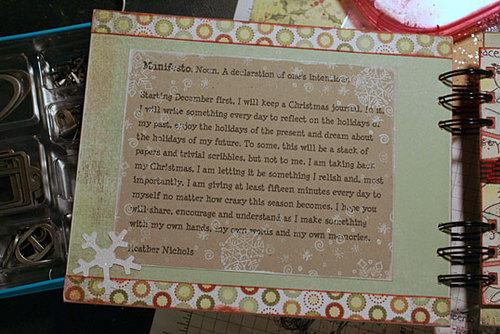 Christmasjournalmanifestopi
